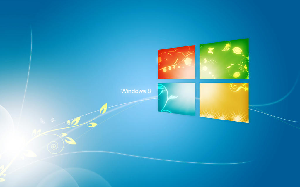 Wall Widnos 7 mix Windows 8 by anhnamcrken231