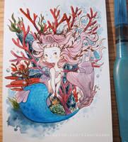 Mermay Day 1: Coral