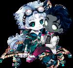 Deimos and Altair