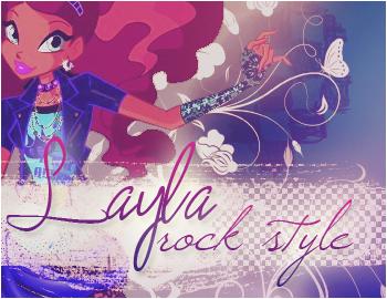 Layla/Aisha Rock Style by BloomciaArt