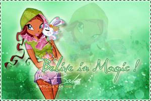 Layla/Aisha Believe in Magic ! ( 4 season ) by BloomciaArt