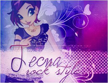 Tecna Rock Style by BloomciaArt