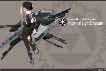 Imperial Light Cruiser by Vectorek