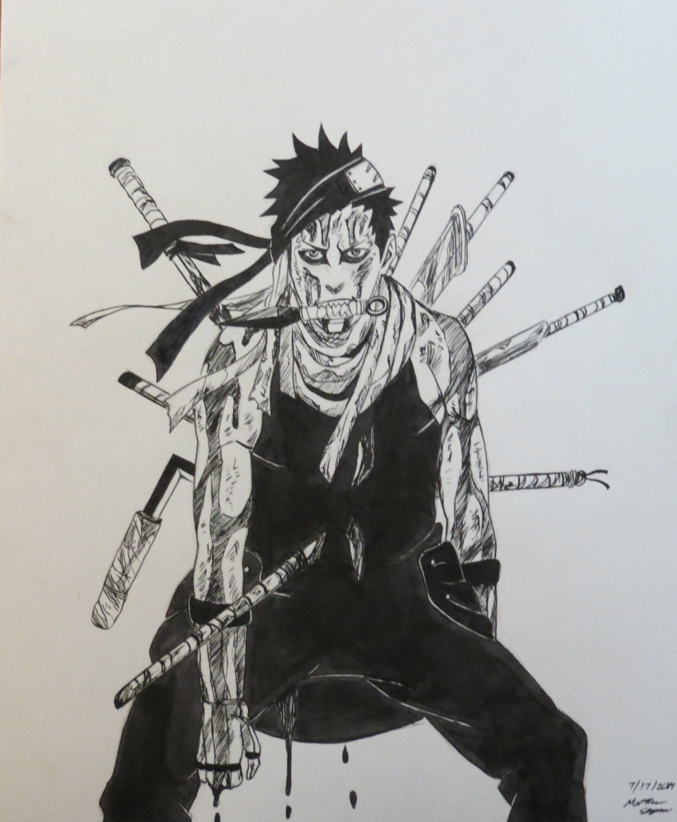 Zabuza Momochi By Murkicide On DeviantART