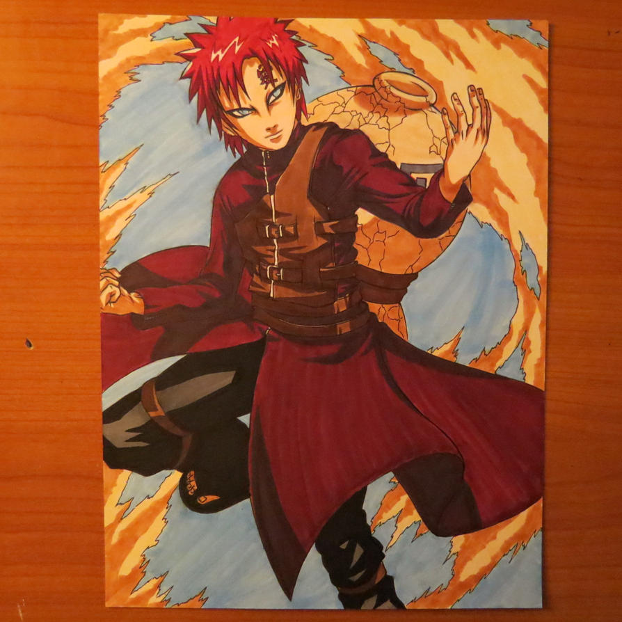 Gaara of The Sand by Murkicide