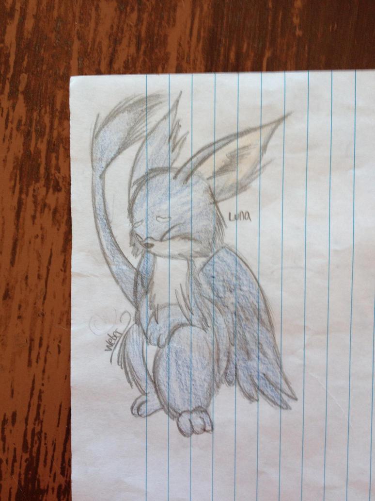 Luna doodle by Equinoxthealicorn