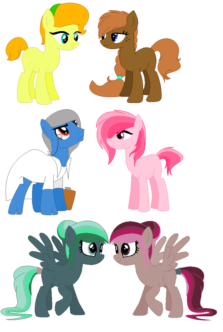 adopted ponies 15 by Equinoxthealicorn