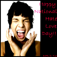 National Hate Love Day -Feb 14 by angelsins
