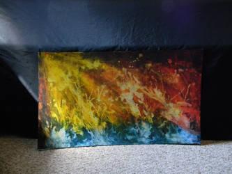 ocean a flame by Elizabeth-Cook