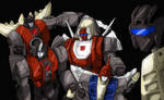 Dinobot Family Portrait