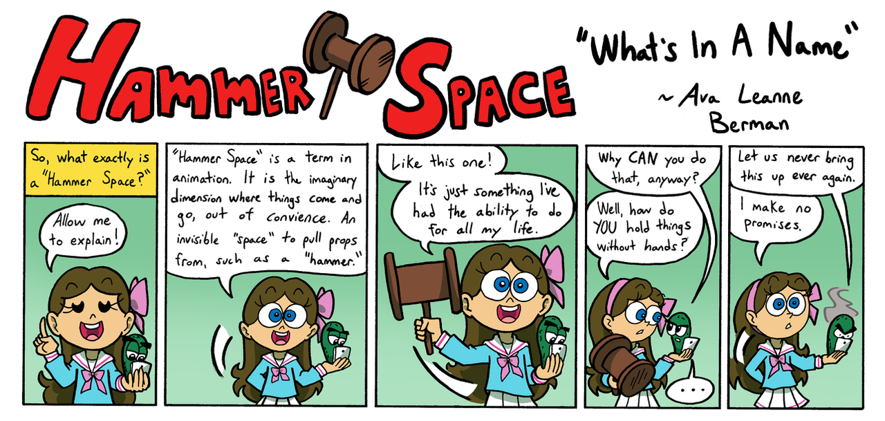 Hammer Space: What's In A Name by ABwingz