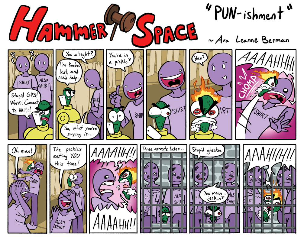 Hammer Space: PUN-ishment by ABwingz
