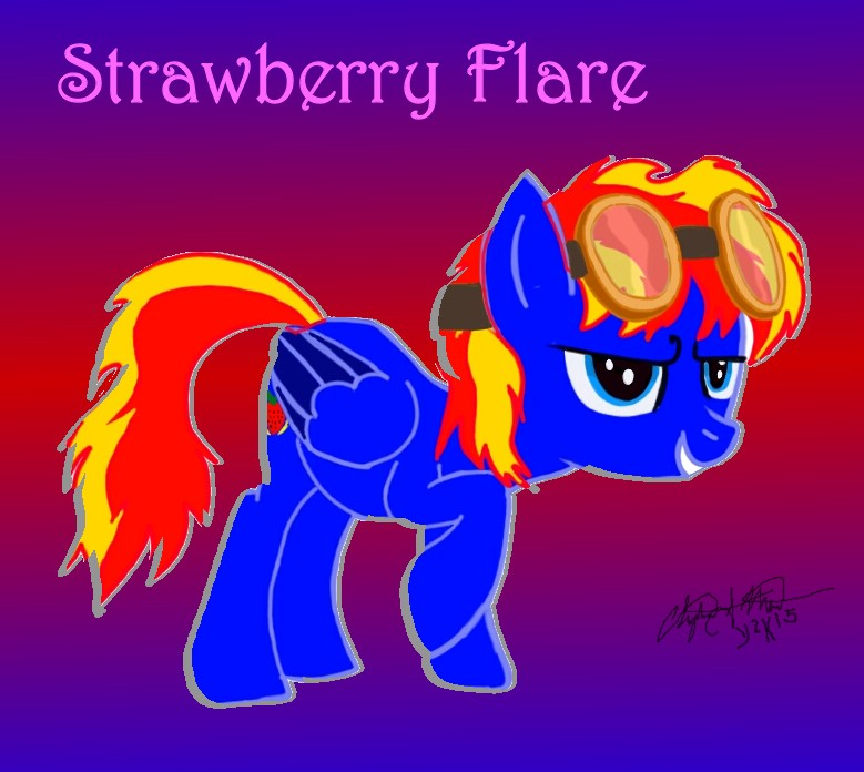 Strawberry Flare by Tabaxion