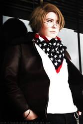 Star spangled scarf by Hubedihubbe