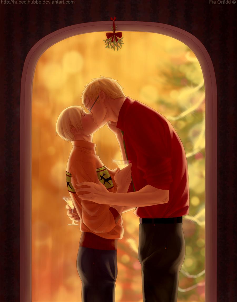 Mistletoe by Hubedihubbe