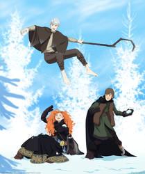 Snow fun by Hubedihubbe