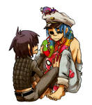 Cyborg and 2D