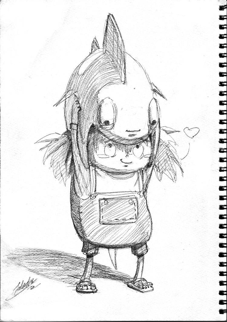 Sketchbooksketchen by toshi13go