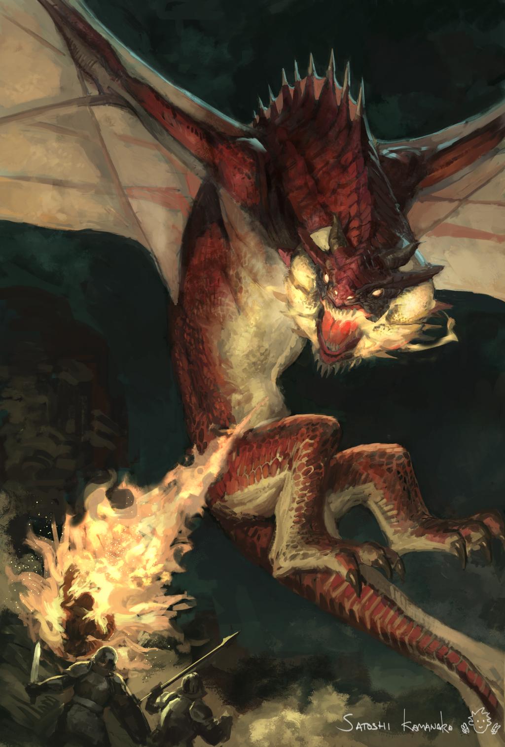 Wyvern Dragon: Fire Wyvern By Toshi13go On DeviantArt