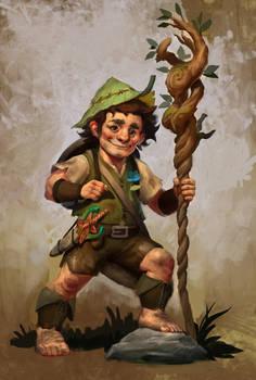 Yof Bramblethorn - Hafling Druid