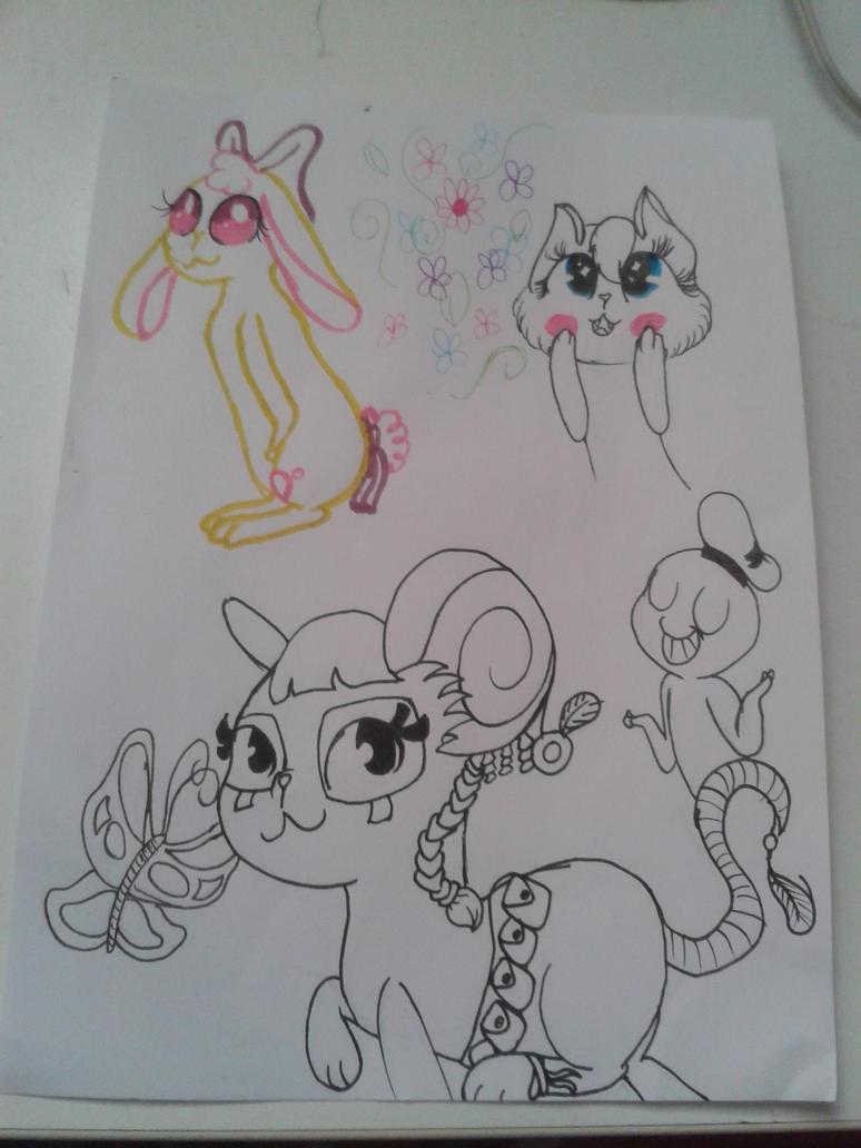 Completely random stuff I can't name by FabulousUndertaleFan