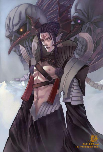 Demonic by elf art