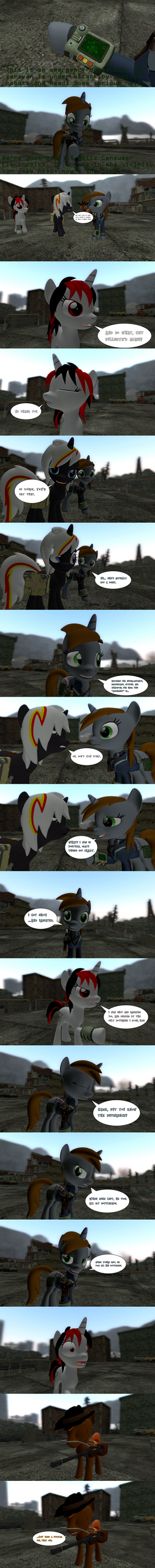 Fallout Equestria: Automatron (Abridged) by Chatterbeast