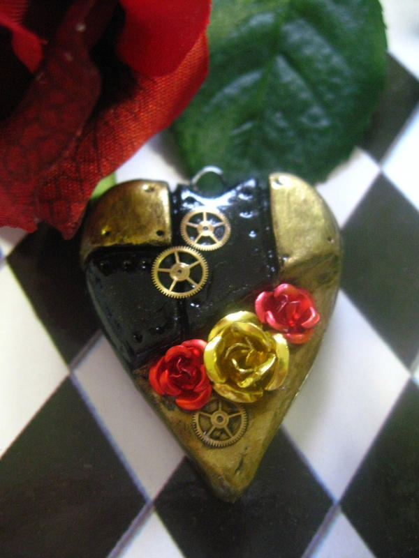 Steampunk Heart: Royal Roses by Cevangel