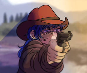 Sal Fisher Western AU! by starchaser6000