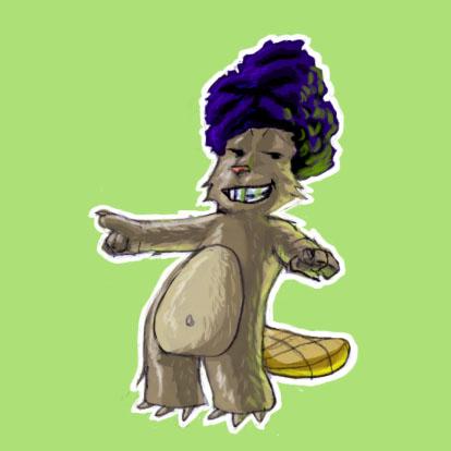 Castor Afro by Mwendigo
