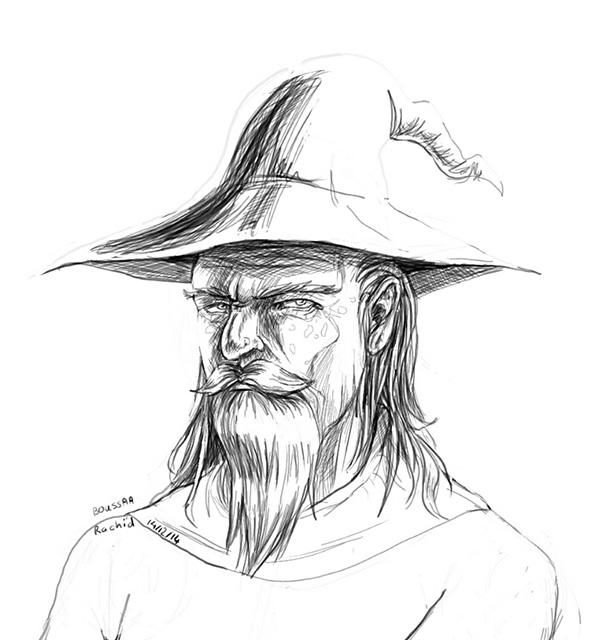 Note - 05 - Gandalf by Mwendigo