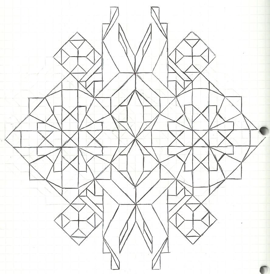 Graph paper art Nov 8th by estabane