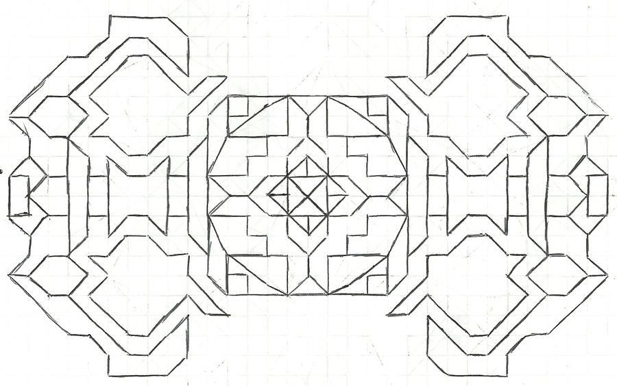 Graph paper art Nov 12th by estabane