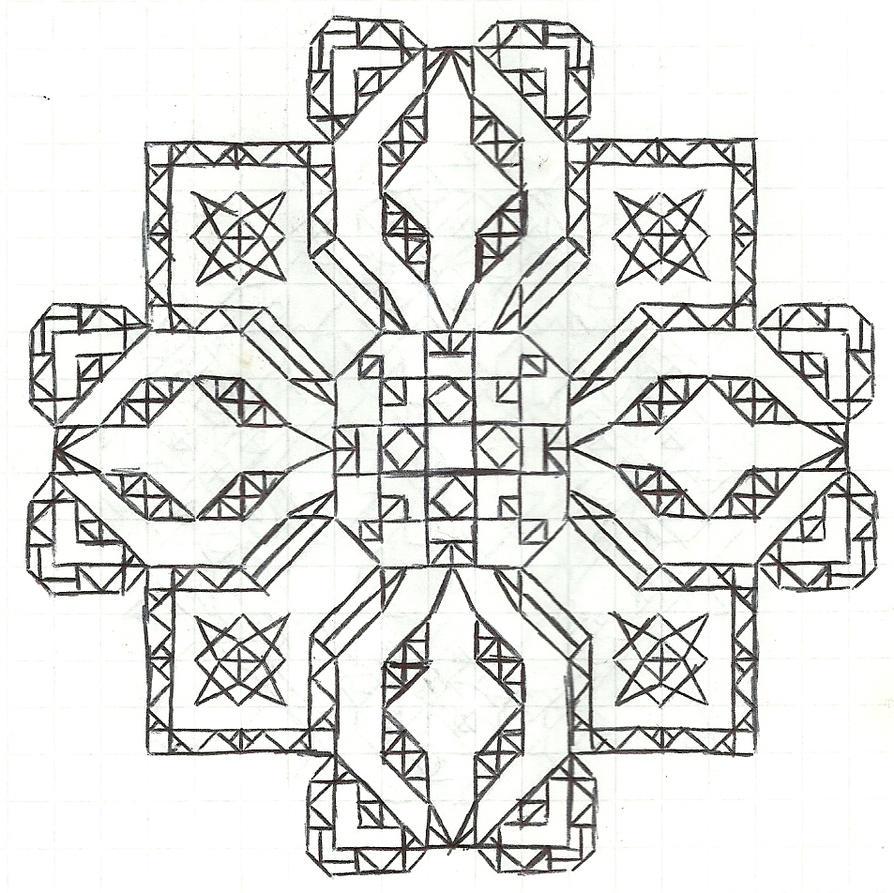 Graph Paper Art Jan 21 By Estabane On Deviantart
