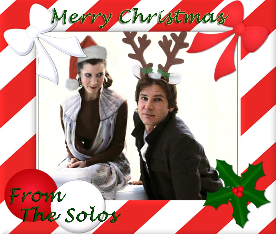 Solo Christmas Card by CapnHannahSolo