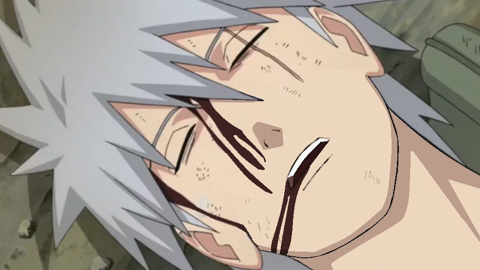 Kakashi Death. Edited and UNMASKED! :) by drussell729 on ...