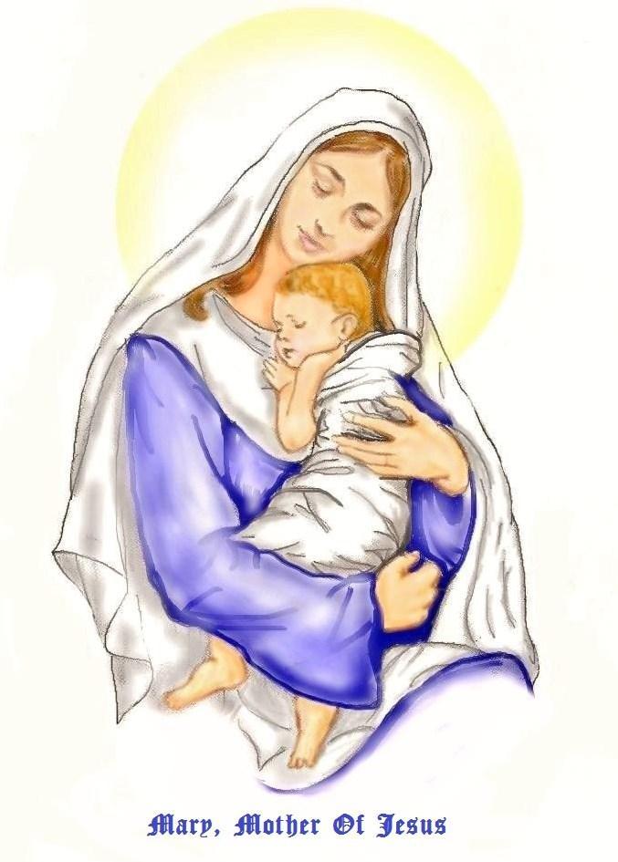 Mary, Mother Of Jesus by Peekeeboo