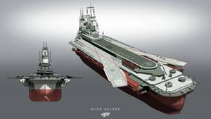 Simon Bolivar Aircarrier / Battleship by alanquiroz