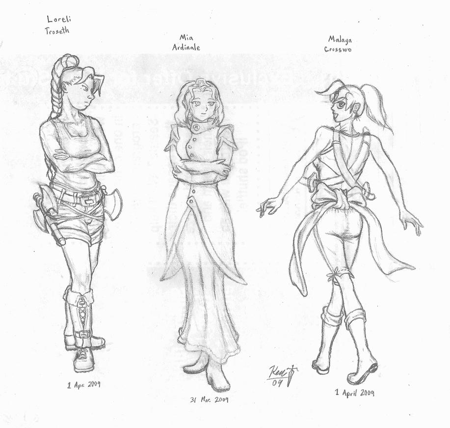 Anatomy 1: Taria Girls by KageRyu798 on DeviantArt