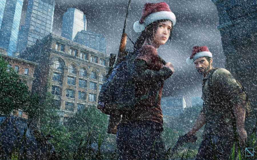 Last of Us Christmas by Gamel3oX on DeviantArt