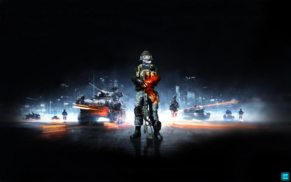 Battlefield 3 sniper trollface by Gamel3oX on DeviantArt  Battlefield