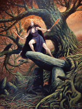 Macha The Irish Goddess of War