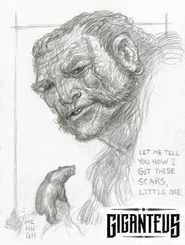Giganteus-- A Scar's Tale.... sketch