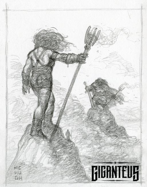 Giganteus--- Signals Sketch by McHughstudios