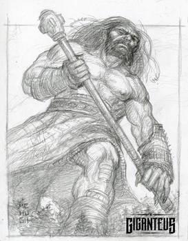 Today's Giganteus sketch --- Look Up!