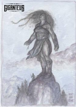 Giganteus--Commune Watercolor Sketch