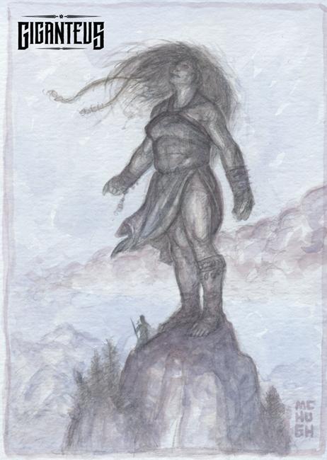 Giganteus--Commune Watercolor Sketch by McHughstudios