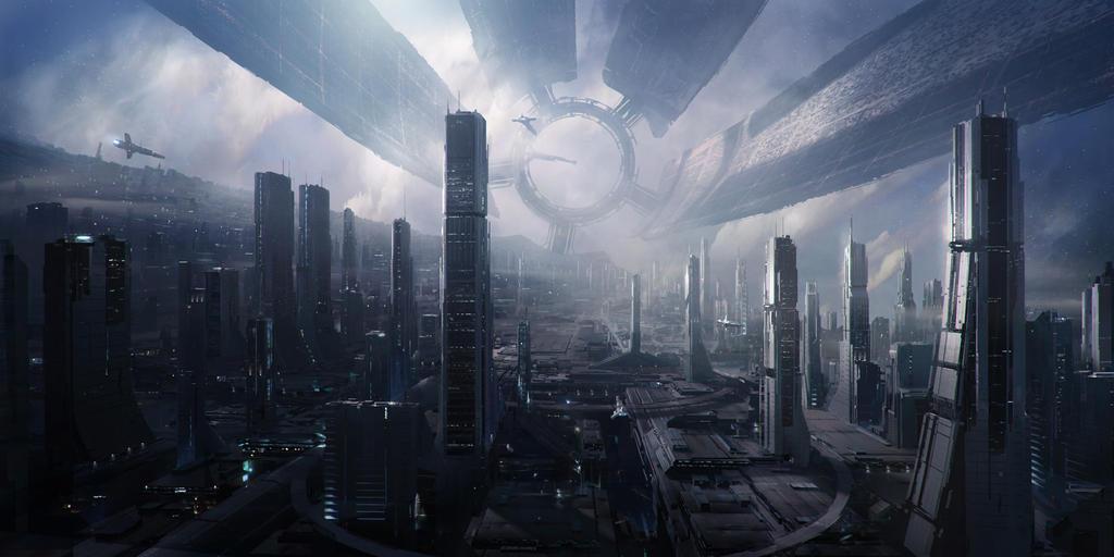 Mass effect Citadel HD 20 Mpx by Elizarars