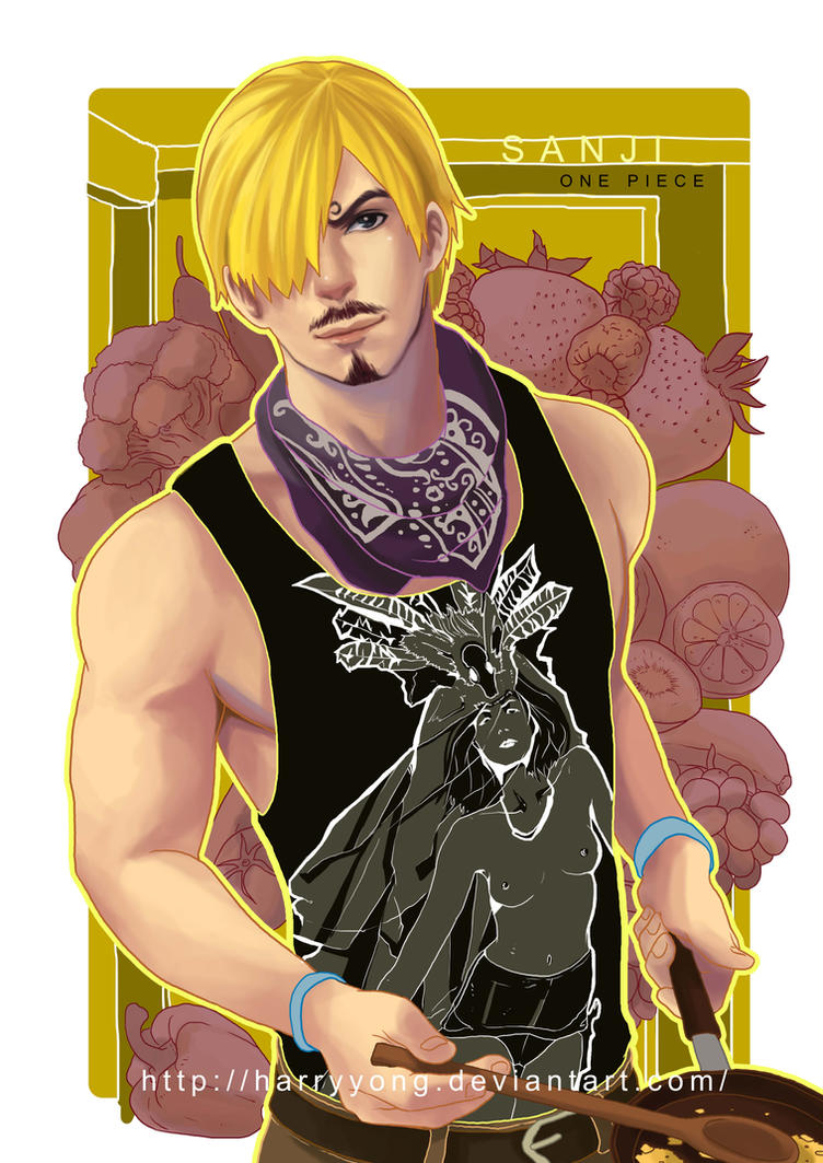 One Piece ---- Sanji by HarryYong