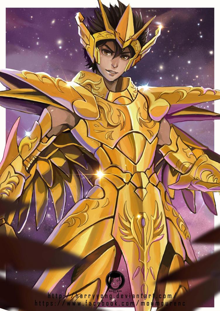 Pegasus Seiya by HarryYong